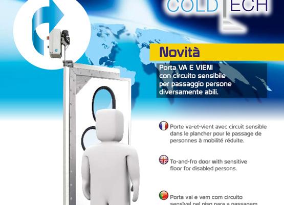 Porte industriali e commerciali coldtech - Porte va e vieni per interni ...